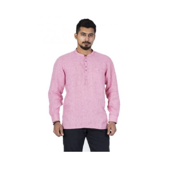 Pink-Colour-Smart-Casual-Shirt (1)