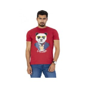 Red-Colour-Printed-T-Shirt (1)